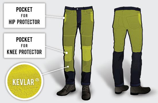 kevlar pants