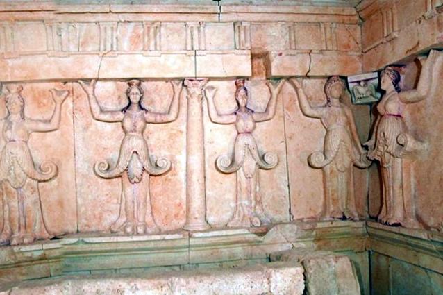 thracian Sveshtari tomb